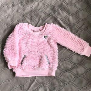 Toddlers pullover sweatshirt